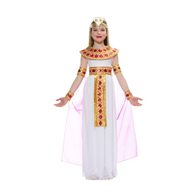 Girls Pink Cleopatra Costume