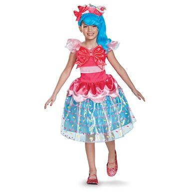 Girls Shopkins Deluxe Jessicake Halloween Costume – Shopkins Costumes