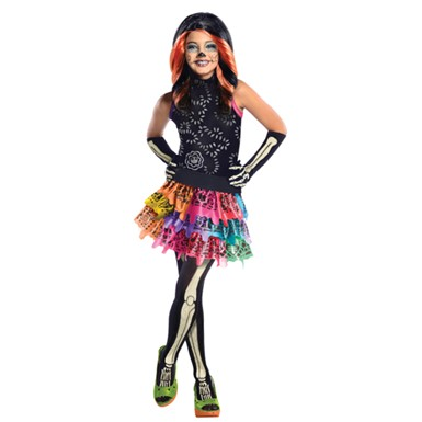 Girls Skelita Calaveras Costume