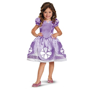 Girls Sofia The First Classic Costume