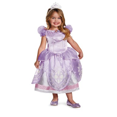 Girls Sofia The First Deluxe Costume