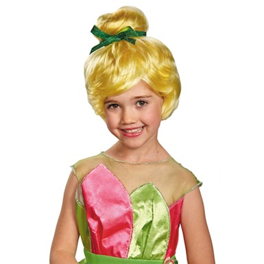 Girls Tinker Bell Wig