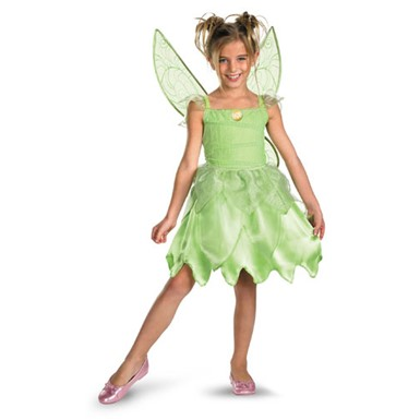 Girls Tinkerbell Costume  - Rescue Classic
