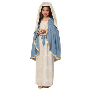 Girls Virgin Mary Biblical Costume