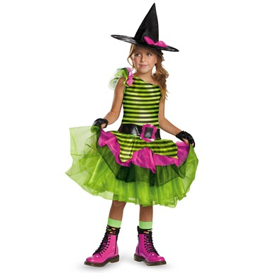 Girls Whimsy Witch Costume