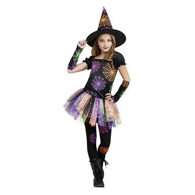 Girls Wild Witch Costume