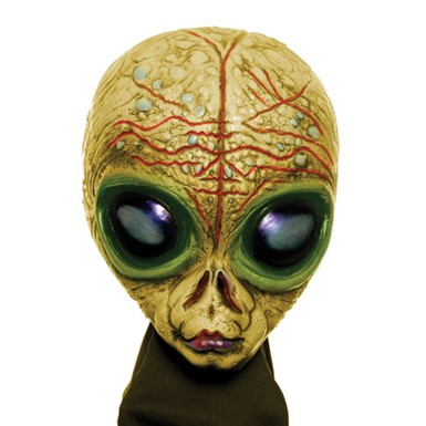Gold Shadow Alien Mask