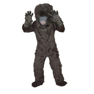 Gorilla Costume for Kids - Deluxe