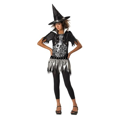 Gothic Witch Costume - Tween