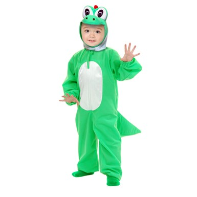 Green Dinosaur Costume - Toddlers