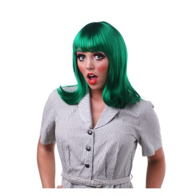 Green Peggy Sue Wig