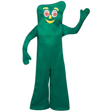 Gumby Halloween Costume - Adult