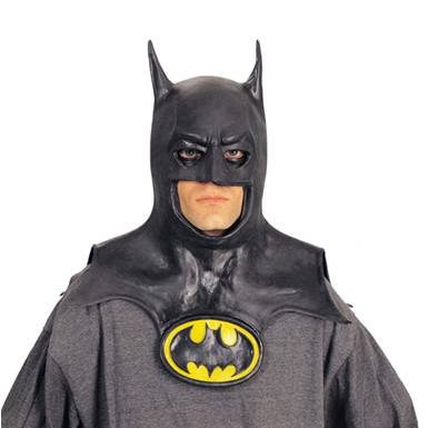 Halloween Batman Mask - Black