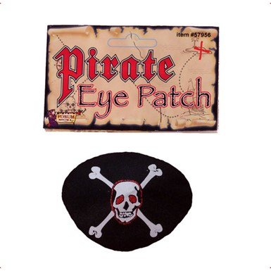 Halloween Pirate Eye Patch