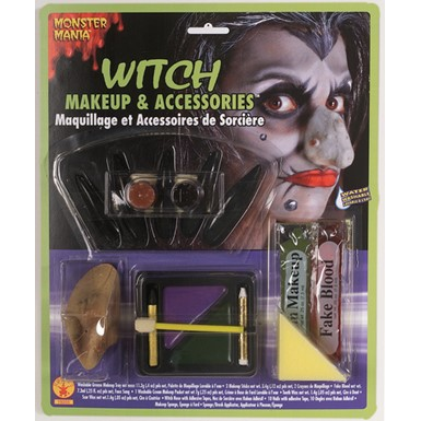 Halloween Witch Make Up Kit
