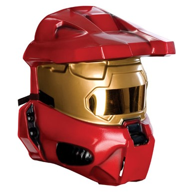 Halo Red Spartan Half Mask