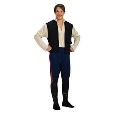 Han Solo Halloween Costume - Mens Star Wars