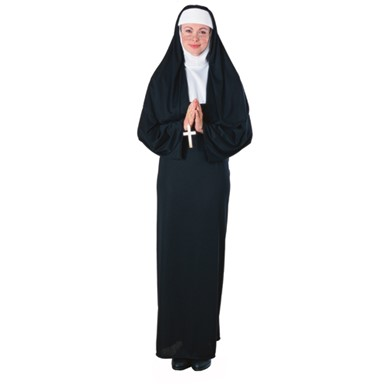 Holy Nun Religious Sister Adult Standard Costume