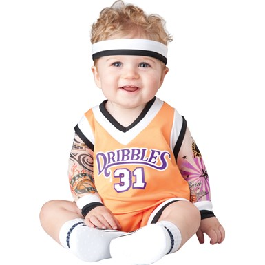 Infant Double Dribble Basketball Halloween Costume