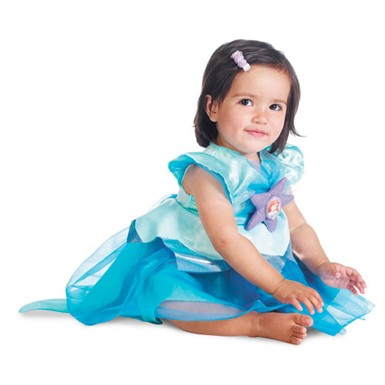 Infant Girls Disney Ariel Costume