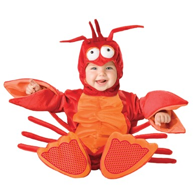 Infant Lobster Costume - Lil Lobster