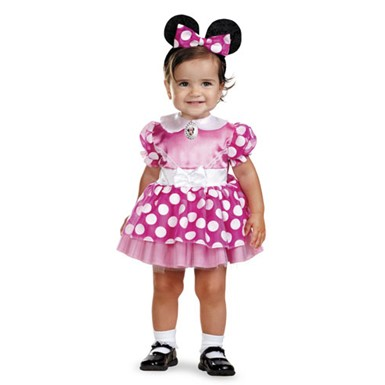 Infant Minnie Mouse Costume - Pink