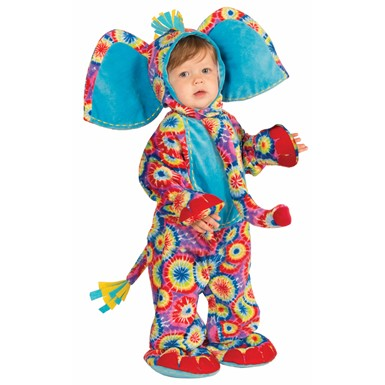 Infant Psychedelic Elephant Costume
