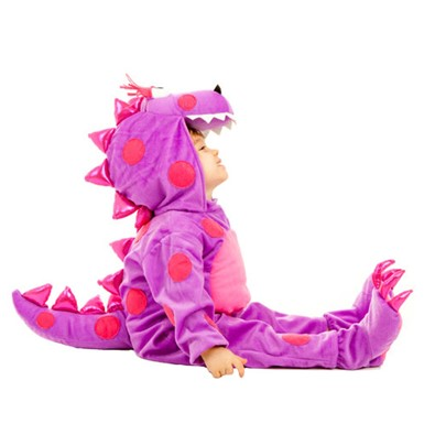 Infant Teagon The Dragon Pink Halloween Costume