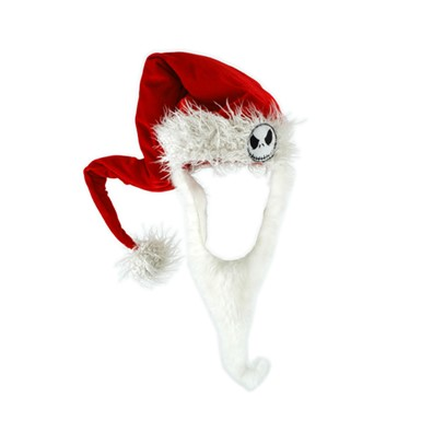 Jack Skellington Halloween Costume - Santa Hat