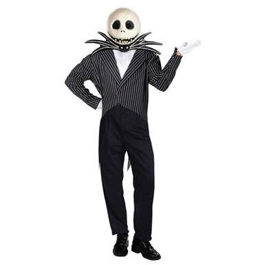 Jack Skellington Nightmare Before X-Mas Costume 42-46