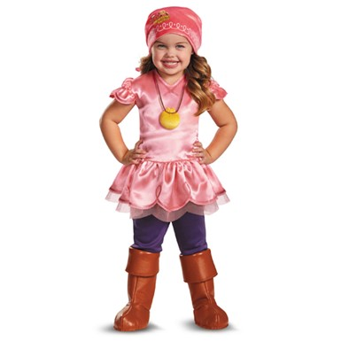 Jake Never Land Pirates Izzy Costume - Girls