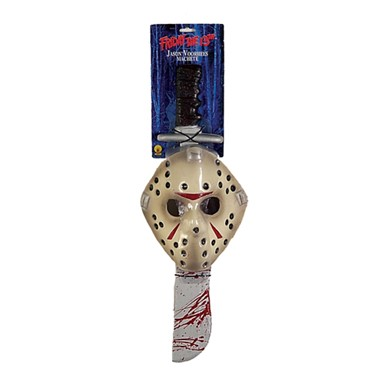 Jason Mask and Machete - Friday the 13th