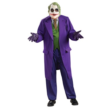 Joker Deluxe Adult Costume - Mens Batman