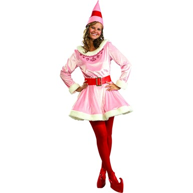 Jovie The Elf Costume - Deluxe Jovie Buddy the Elf