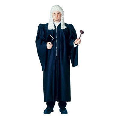 Judge Costume Robe - Mens