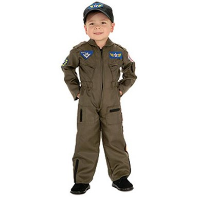 Kid's Air Force Costume - Pilot Boy