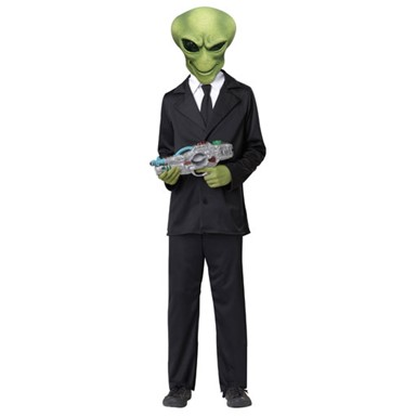 Kids Alien Agent Costume