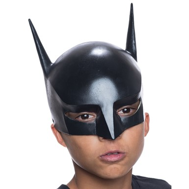 Kids Batman 3/4 Vinyl Mask