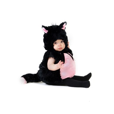 Kids Black Kitty Costume