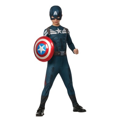 Kids Captain America Stealth Suit Costume
