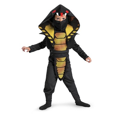 Kids Cobra Ninja Costume