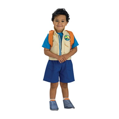 kids diego costume deluxe nickelodeon
