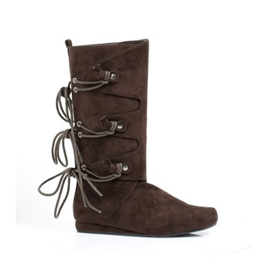 Kids Forest Brown Boots