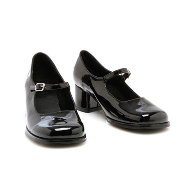 Kids High Heel Shoes - Black Eden