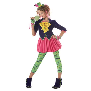 Kids Mad Hatter Costume - Girls