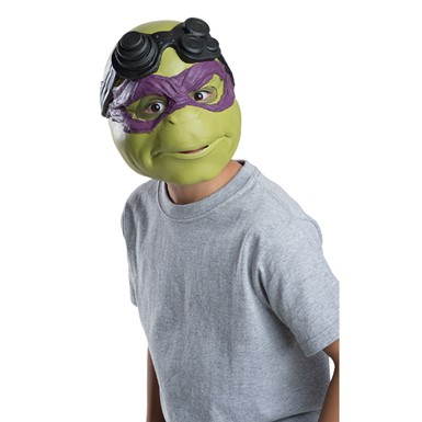 Kids Ninja Turtles Donatello 3/4 Halloween Mask