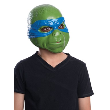 Kids Ninja Turtles Leonardo 3/4 Mask