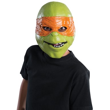 Kids Ninja Turtles Michelangelo 3/4 Mask