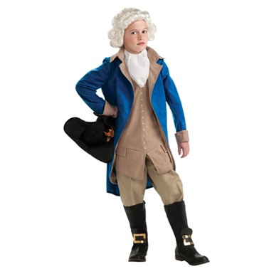 Kids President Washington Costume