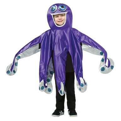 Kids Purple Octopus Costume